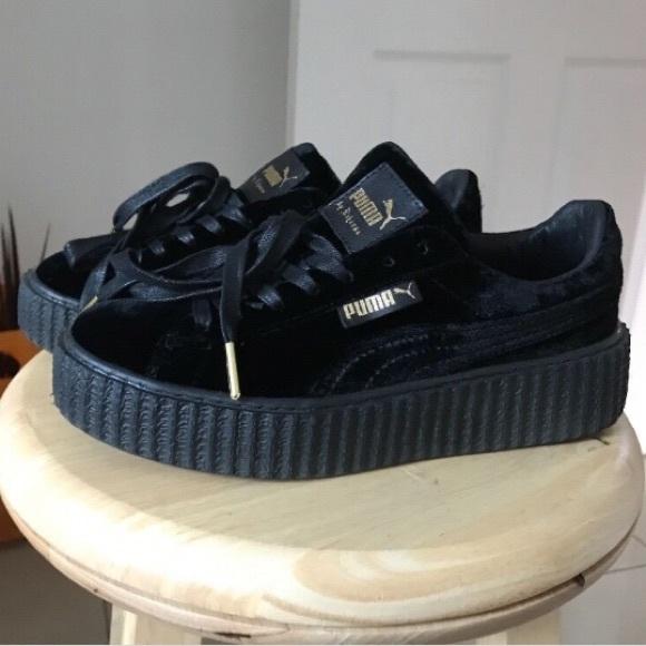 97a539615a0 Puma Shoes | Black Fenty Creepers Comes With Fenty Box | Poshmark